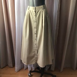 Vintage Safari Skirt
